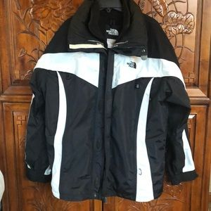 Quality North Face Jacket  with Zip in Vest